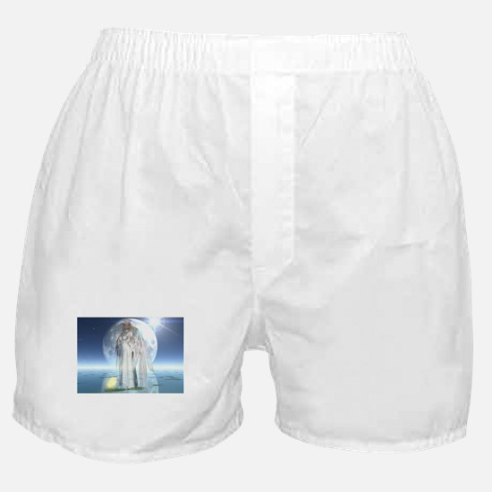 Moon Angel Boxer Shorts