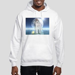 Moon Angel Hooded Sweatshirt