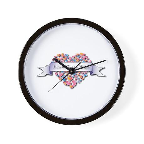 Love My Respiratory Therapist Wall Clock