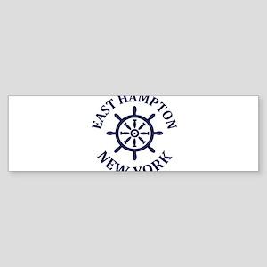 Summer East Hampton- New York Bumper Sticker