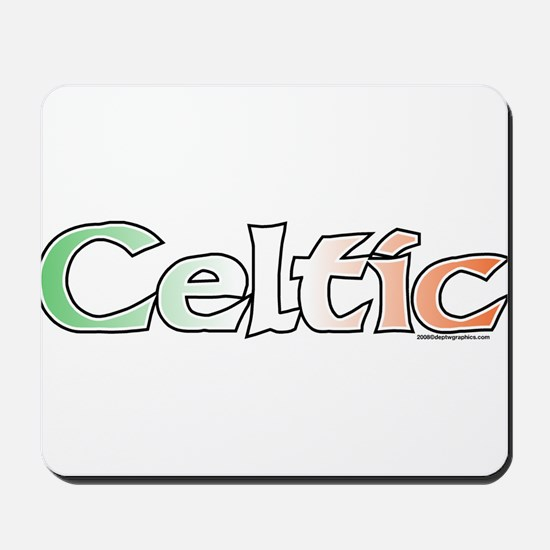 Celtic with Flag Mousepad