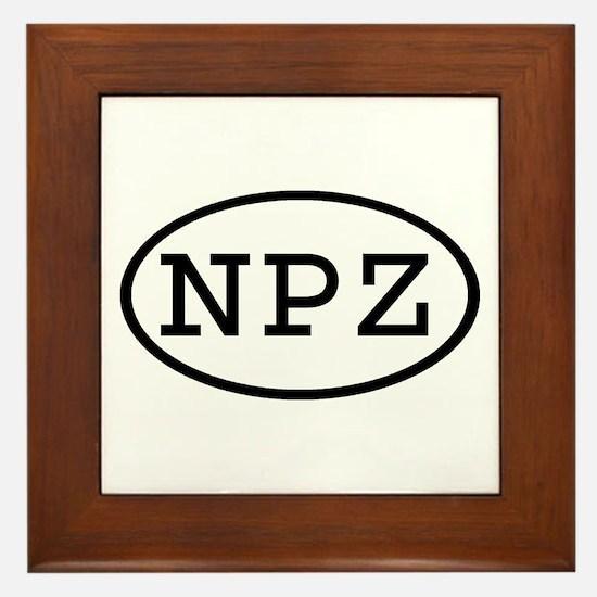 NPZ Oval Framed Tile