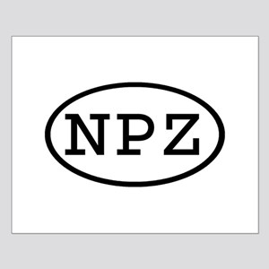 NPZ Oval Small Poster