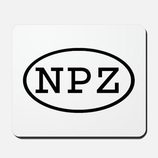 NPZ Oval Mousepad