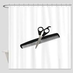 ScissorsComb052010 Shower Curtain