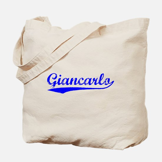 Vintage Giancarlo (Blue) Tote Bag