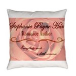 Author Banner Everyday Pillow