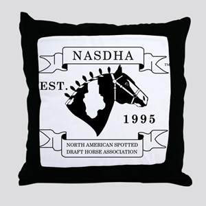 NASDHA Logo Throw Pillow