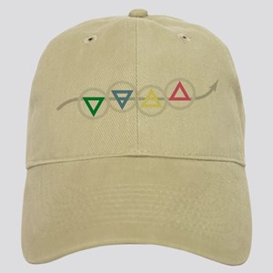 Earth, Water, Air, and Fire Elements Cap