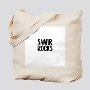 Samir Rocks Tote Bag