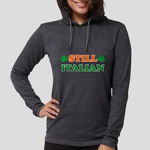 Still Italian Irish Shamrock Long Sleeve T-Shirt