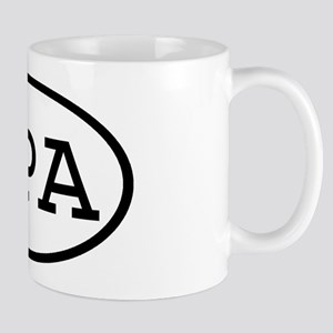 NPA Oval Mug