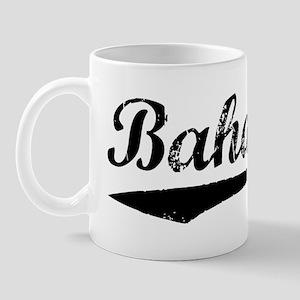 Vintage Bahamas (Black) Mug