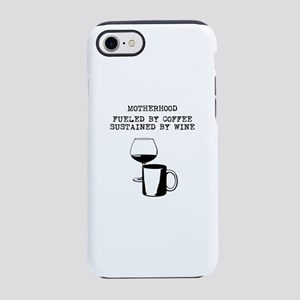 Fueled by Coffee, Sustained iPhone 8/7 Tough Case
