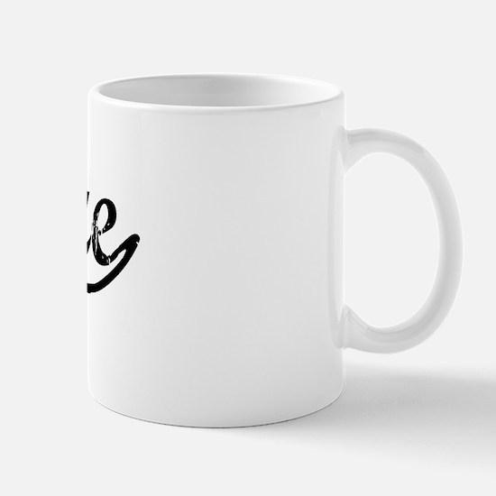Vintage Belize (Black) Mug