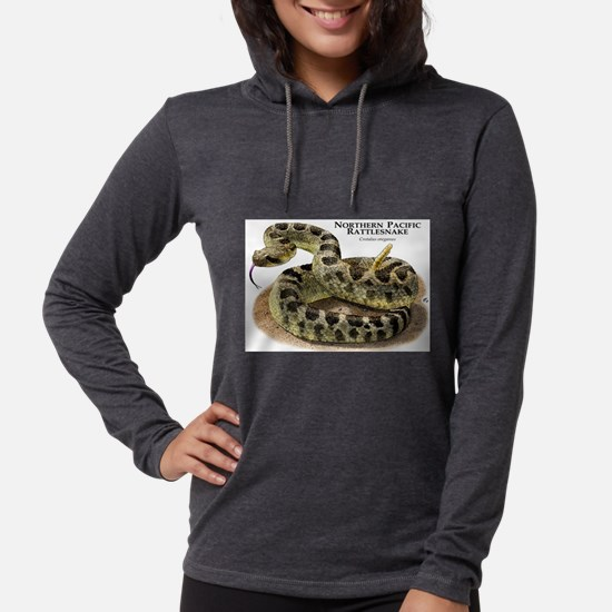 Northern Pacific Rattlesnake Long Sleeve T-Shirt