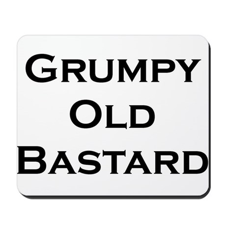 Grumpy OLD Mousepad