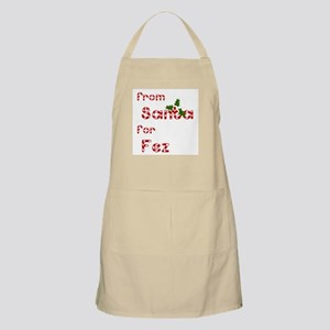 From Santa For Fez BBQ Apron