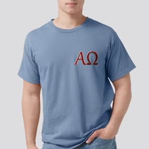 Alpha & Omega Mens Comfort Colors Shirt