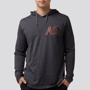 Alpha & Omega Mens Hooded Shirt