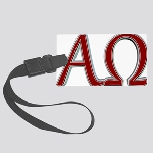Alpha & Omega Large Luggage Tag