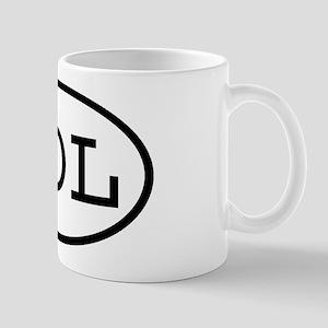 NOL Oval Mug