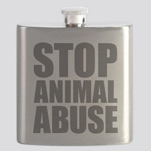 Stop Animal Abuse Flask