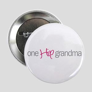 """one hip grandma 2.25"""" Button"""