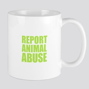 Report Animal Abuse Mugs