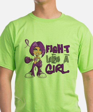 Licensed Fight Like a Girl 42.8 Cys T-Shirt