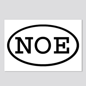 NOE Oval Postcards (Package of 8)