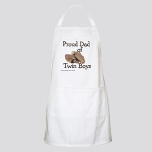 Proud Dad of Twin Boys Baseball BBQ Apron