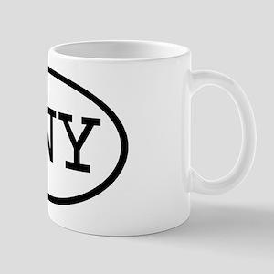 NNY Oval Mug