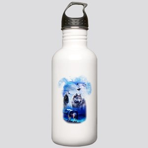 Wolf Moon Stainless Water Bottle 1.0L