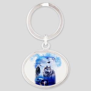 Wolf Moon Keychains