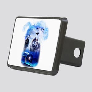 Wolf Moon Rectangular Hitch Cover