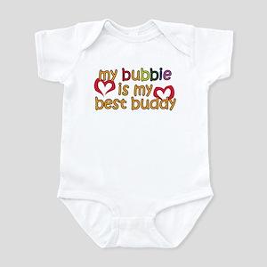 Bubbie is My Best Buddy Infant Bodysuit