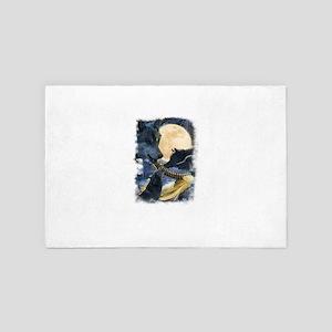 Wolf Moon 4' x 6' Rug