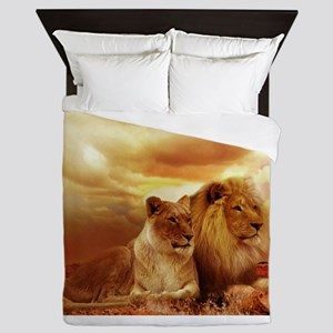 Lion Queen Duvet