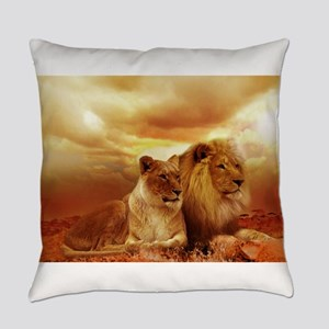 Lion Everyday Pillow