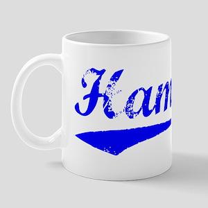 Vintage Hamza (Blue) Mug