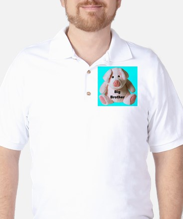 Big Brother Pig Golf Shirt