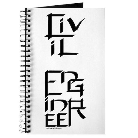 Civil Engineer Character Journal