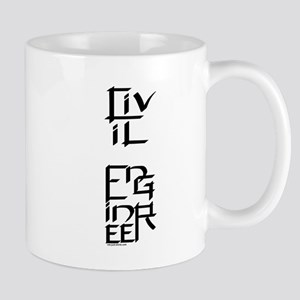 Civil Engineer Character Mug