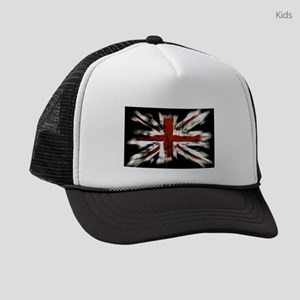 UK Flag England Kids Trucker hat