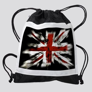 UK Flag England Drawstring Bag