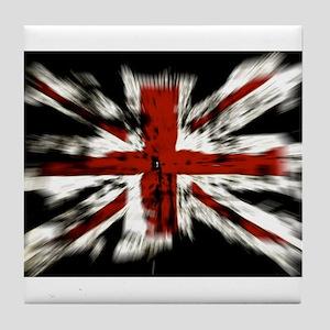 UK Flag England Tile Coaster