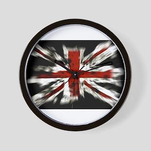 UK Flag England Wall Clock