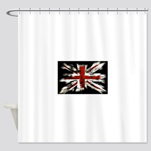 UK Flag England Shower Curtain