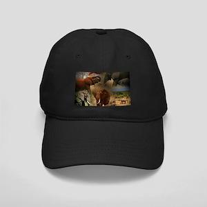 Elephant Black Cap with Patch